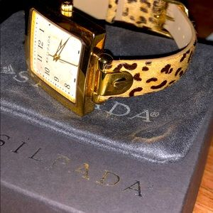 Silpada Timeless Watch. NEW in Org. Box